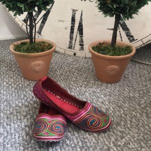 Shoes - Handmade bohemian flats from India